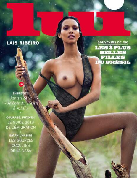 Lais Ribeiro, ultra sexy avec un simple body