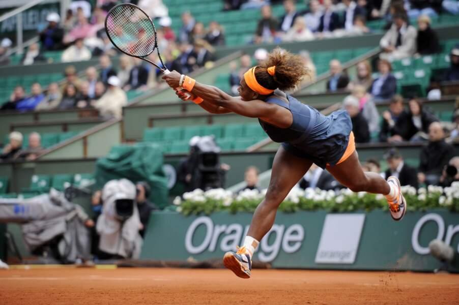 Serena Williams a perdu 4 jeux... en deux matchs !