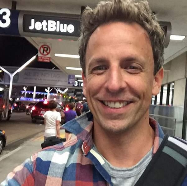 Pour Seth Meyers, la soirée après Emmy se fera..à l'aéroport !
