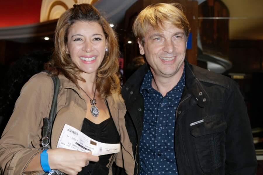 Didier Gustin et son épouse attendent un heureux événement
