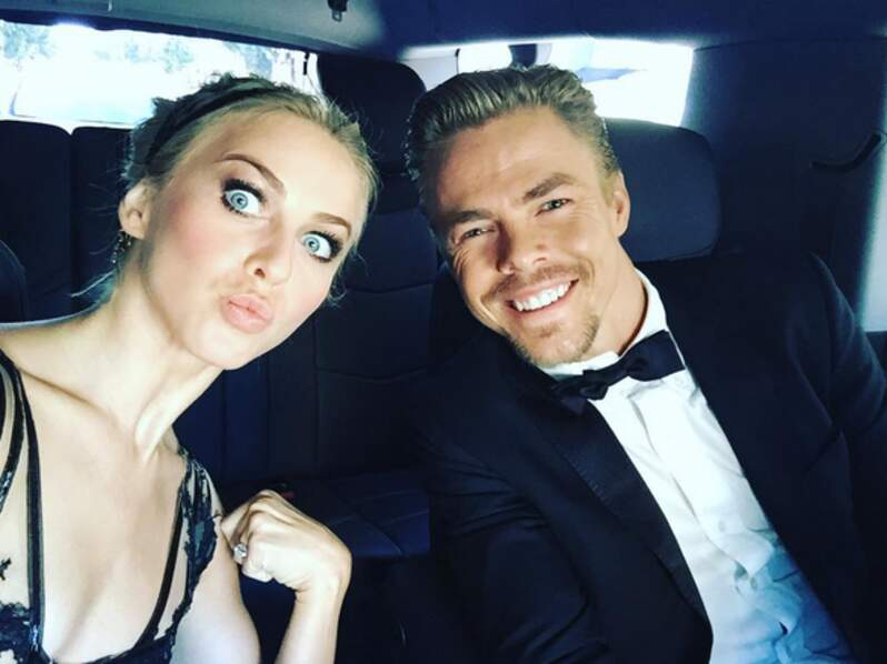 Derek Hough et sa soeur Julianne Hough (Dancing With the Stars)