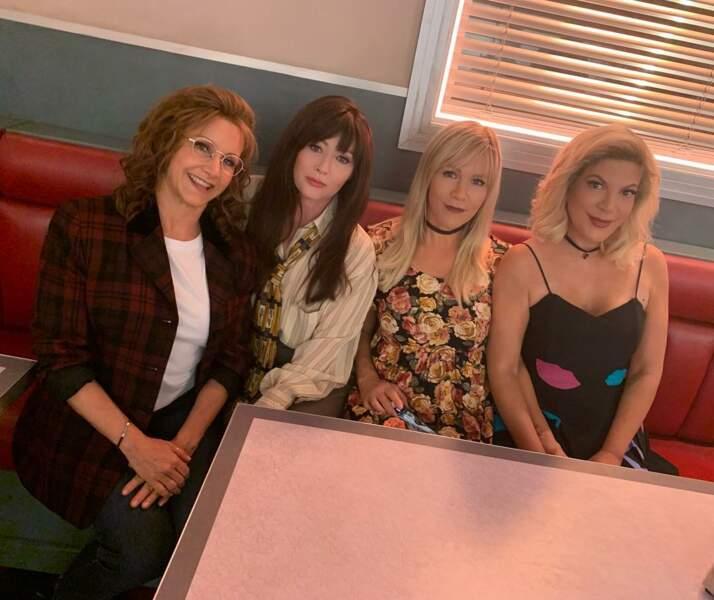 Vingt ans après l'arrêt de la série, les actrices n'ont presque pas changé