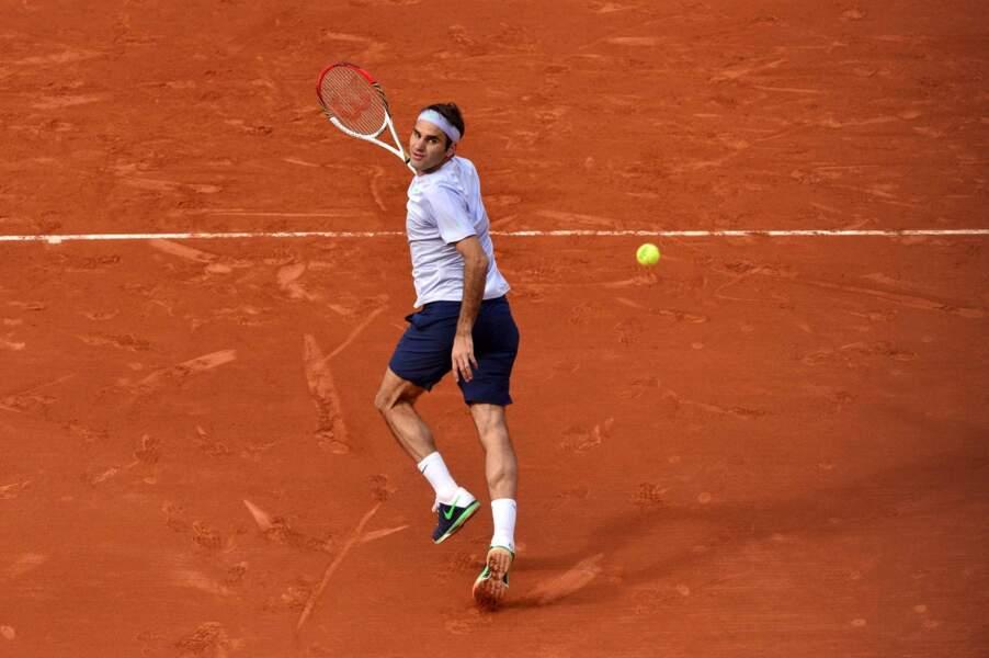 Difficile de prendre de vitesse Roger Federer