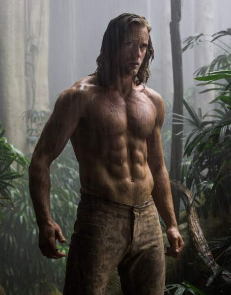 Le sculptural Alexander Skarsgård semble parfait dans le rôle de Tarzan pour le nouveau film signé David Yates