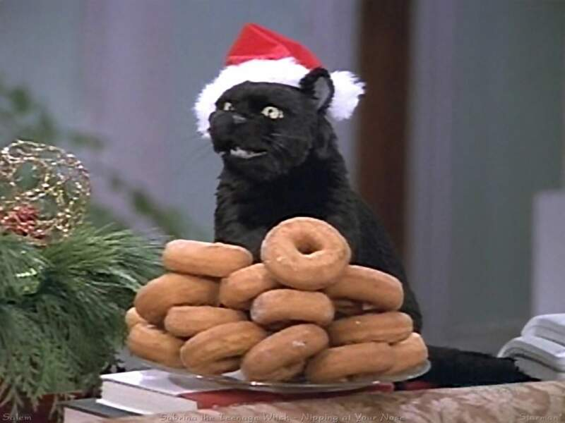 Salem le chat de Sabrina, l'apprentie sorcière