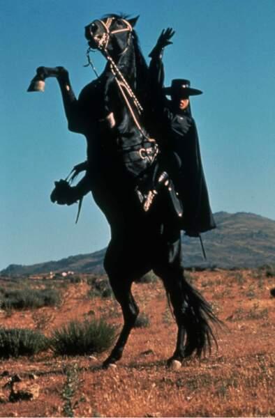 Tornado le cheval de Zorro dans la série