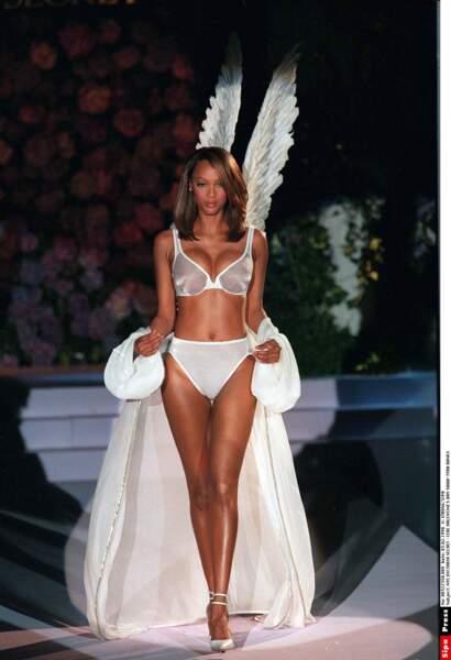 Tyra Banks en Victoria's Secret