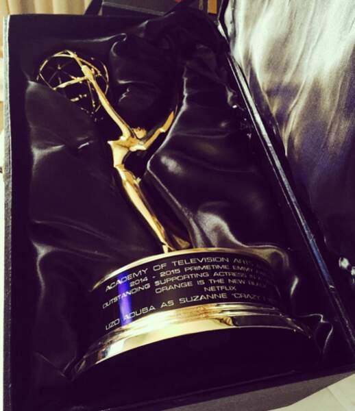 De près, un Emmy ça ressemble à ça