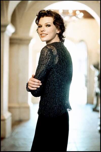 Milla Jovovich s'essaie au cinéma en 1999 dans Jeanne d'Arc de Luc Besson