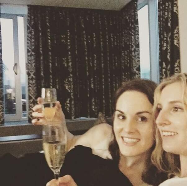 Les deux soeurs sont comme chien et chat mais Michelle Dockery et Laura Carmichael sont comme les doigts de la main
