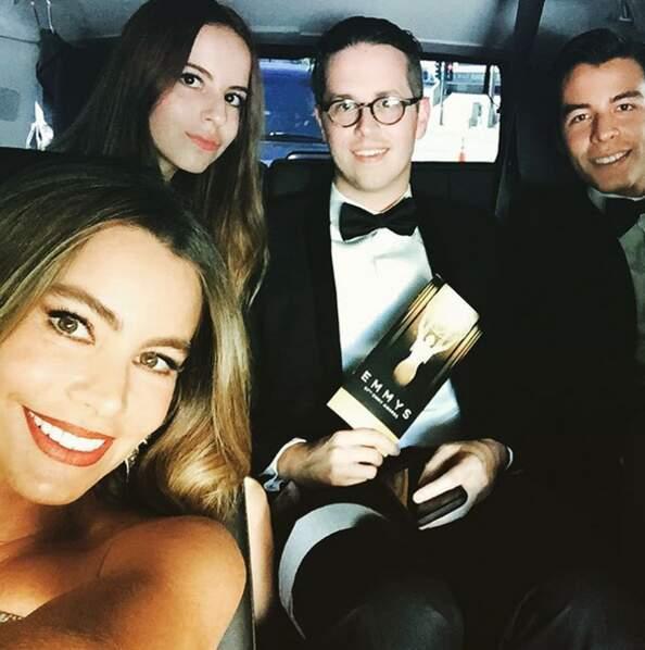 En direct de la limousine de Sofia Vergara