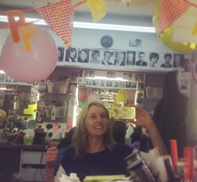 Laura Carmichael a fêté son anniversaire sur le tournage
