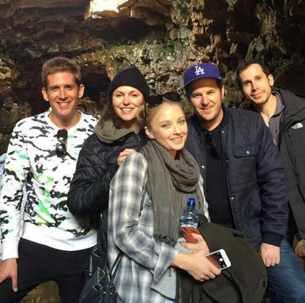 Avant le tournage, ils se sont retrouvés en Islande pour l'anniversaire de Jorja Fox