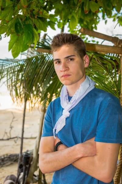 Marius, 21 ans, est étudiant