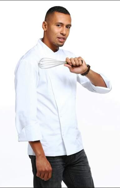 Wilfried Graux, 27 ans, est chef du restaurant Molitor à Paris