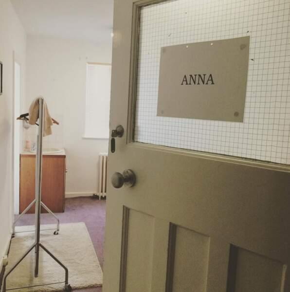 Derniers instants dans la loge d'Anna pour Joanne Froaggatt