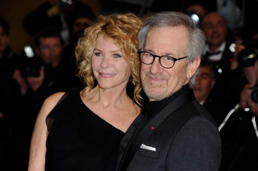 Steven Spielberg, président du jury, et sa femme l'actrice Cate Capshaw