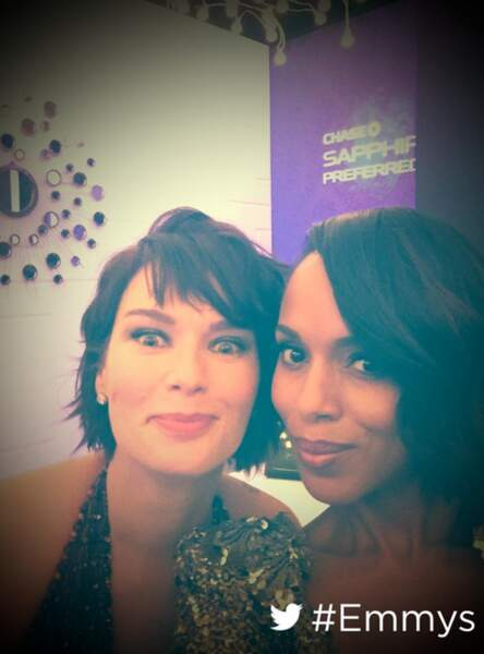 Kerry Washington est trop fan de Lena Headey (Cersei) et de Game of Thrones)