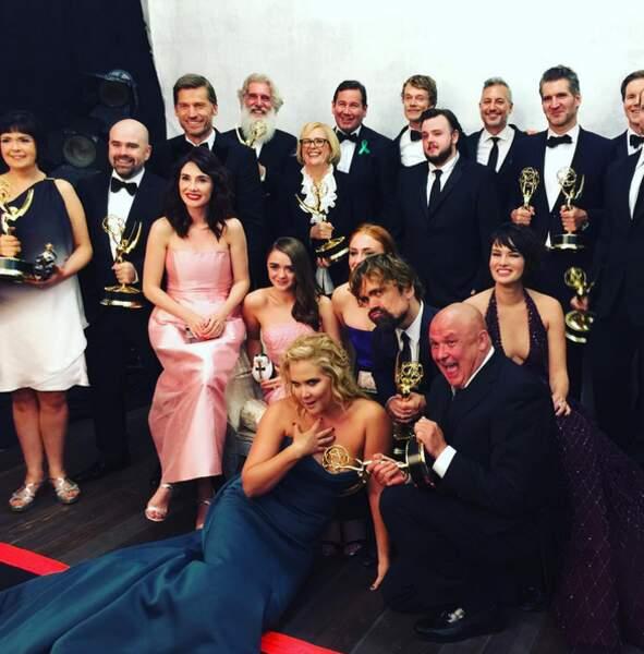 """Selon Amy Schumer, l'équipe de Game of Thrones est sa """"vraie famille"""""""