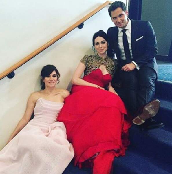 Matt McGorry (Murder), Laura Preppon et Yael Stone (Orange is the New Black) sont prêts pour leur bal de promo
