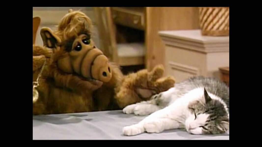 Lucky le chat dans Alf