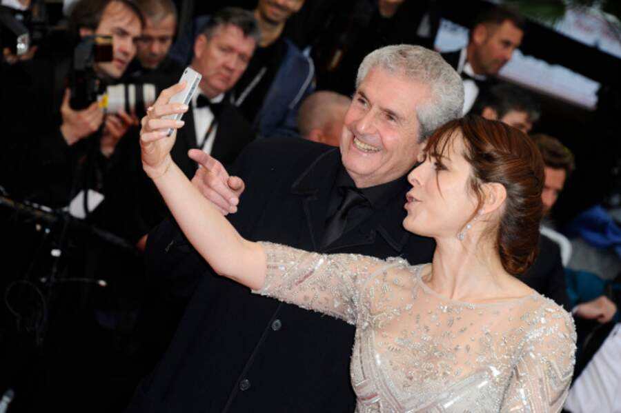 Claude Lelouch et Audrey Dana