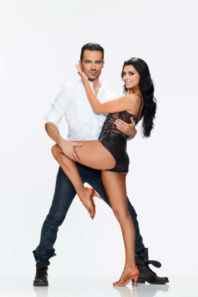Damien Sargue et Candice Pascal