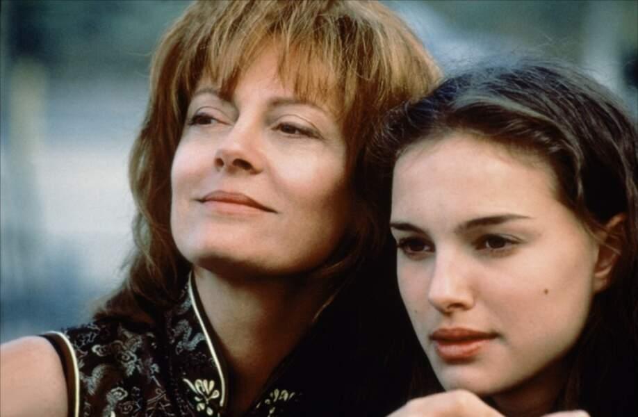 """Un peu plus grande, l'actrice joue dans """"Ma mère, moi et ma mère"""" de Wayne Wang avec Susan Sarandon"""