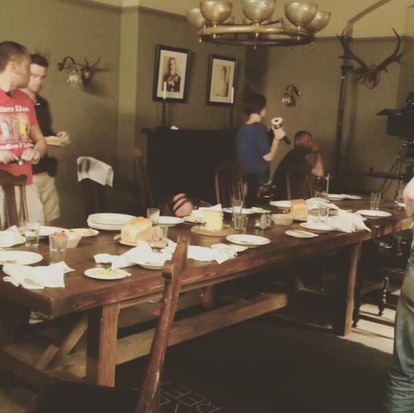 À table ! Le repas des domestiques est prêt