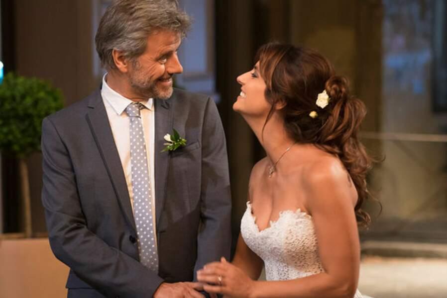Félicitations ! Mélanie épouse Etienne, même si le mariage a failli être annulé (Septembre)