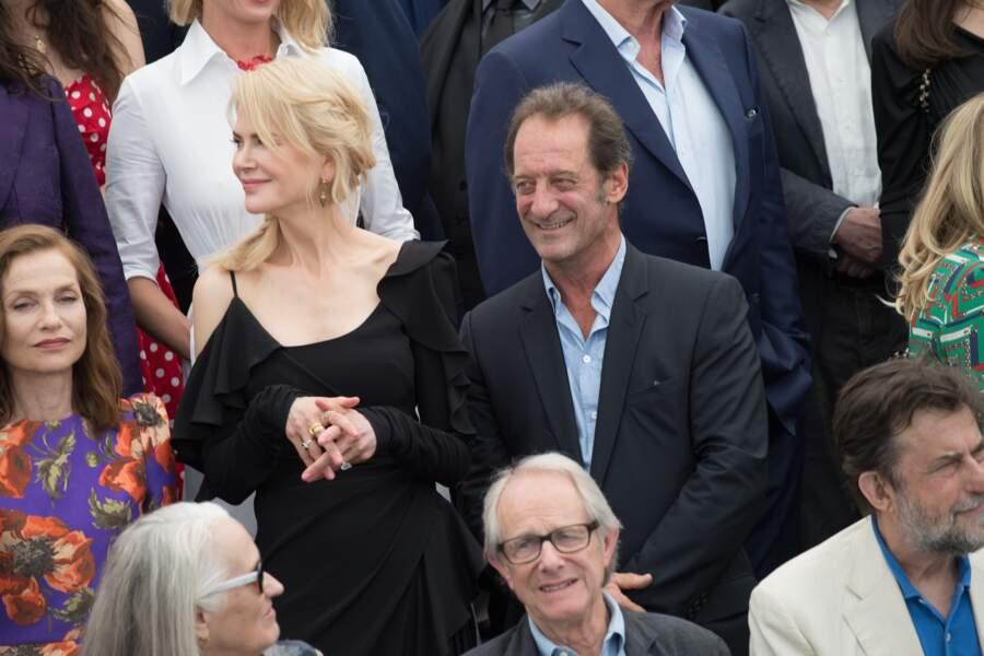Nicole Kidman et Vincent Lindon, au centre