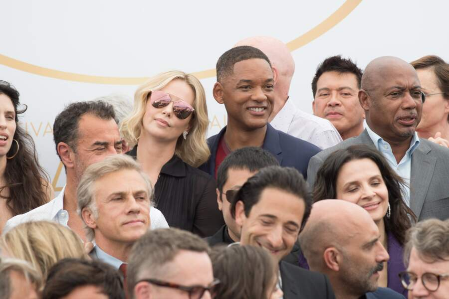 Will Smith et Charlize Theron, visiblement complices