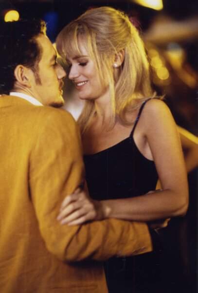 Avec Judith Godrèche dans Bimboland (1998), pour une romance à l'écran et à la ville