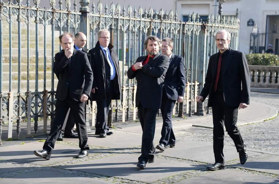 Denis et Bruno Podalydès, Mathieu Amalric et Michel Vuillermoz