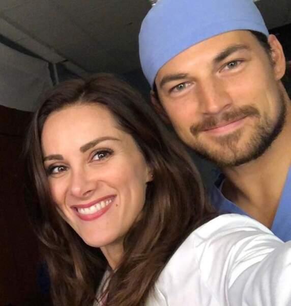 Les frère et soeur DeLuca sont de retour sur le plateau de Grey's Anatomy