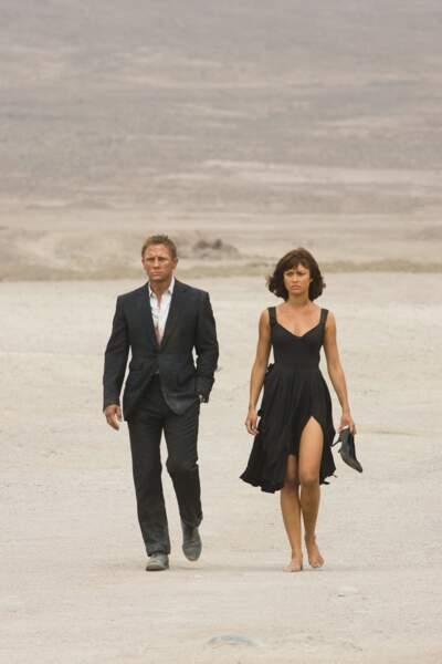 En James Bond Girl, Olga a fait le coup de feu