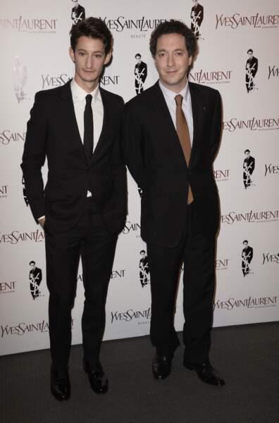 Pierre Niney et Guillaume Gallienne, les deux stars du film Yves Saint Laurent