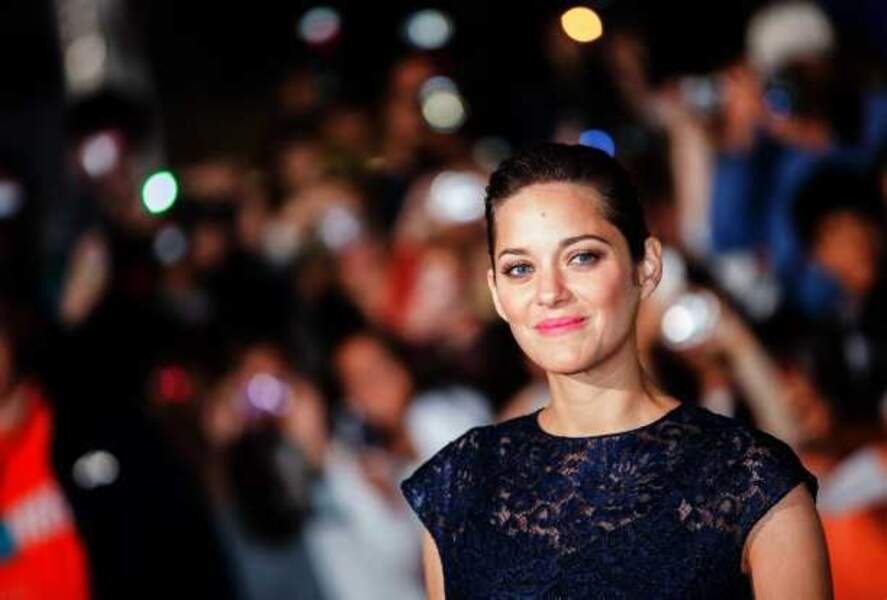 Marion Cotillard, rayonnante à la projection de Blood Ties