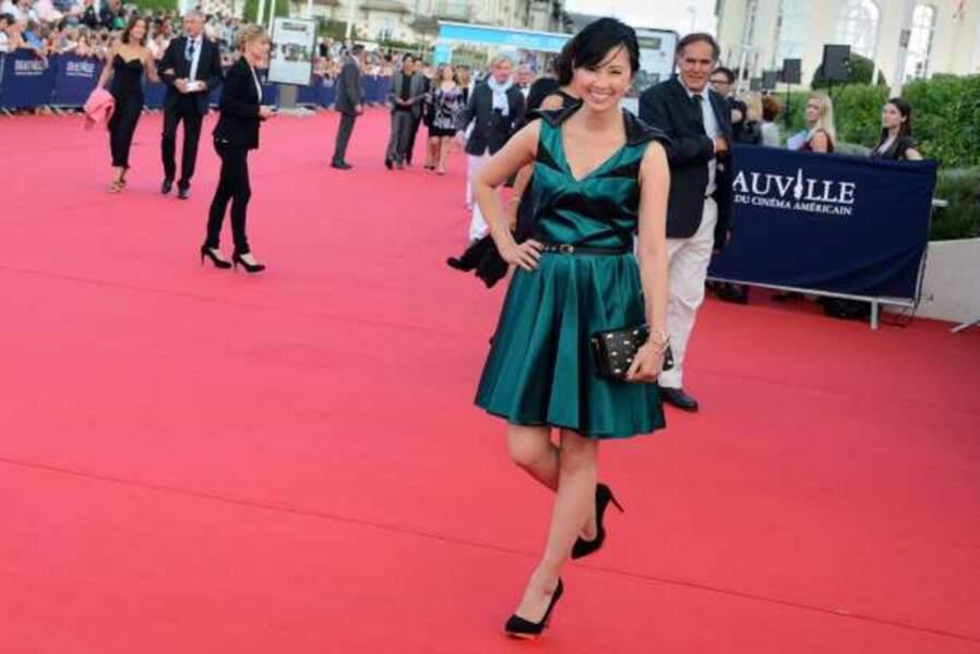 La comédienne Linh-Dan Pham