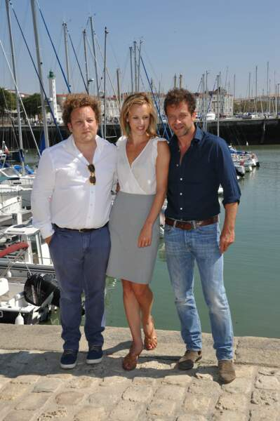 Les stars d'Intrusion : Xavier Palud, Marie Kremer et Jonathan Zaccaï
