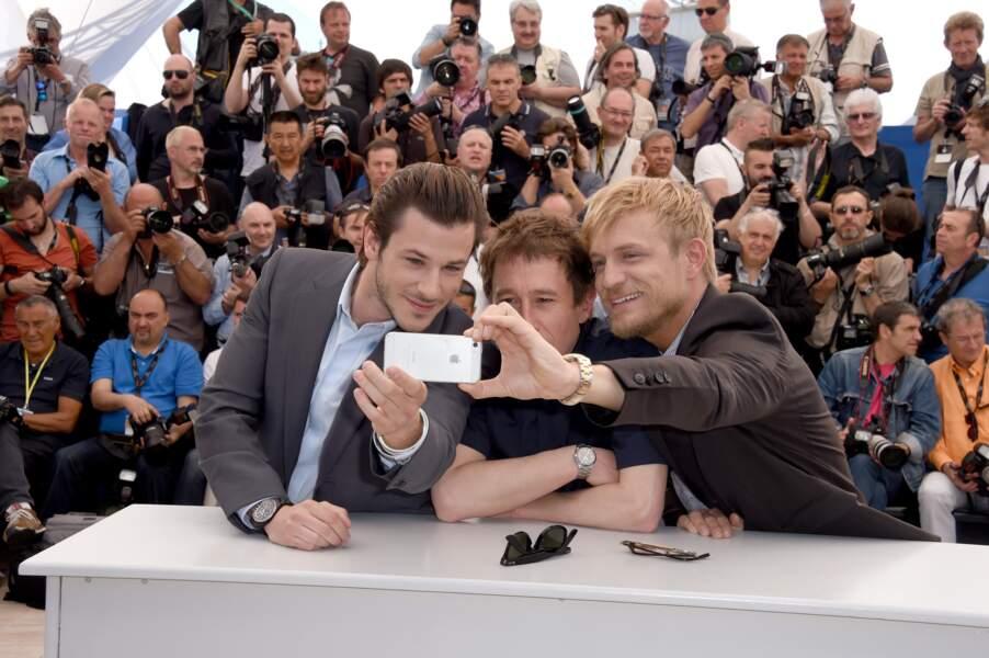 Gaspard Ulliel, Bertrand Bonello et Jeremie Renier se souviendront de leur passage à Cannes