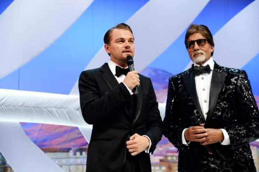 Leonardo DiCaprio prend la parole