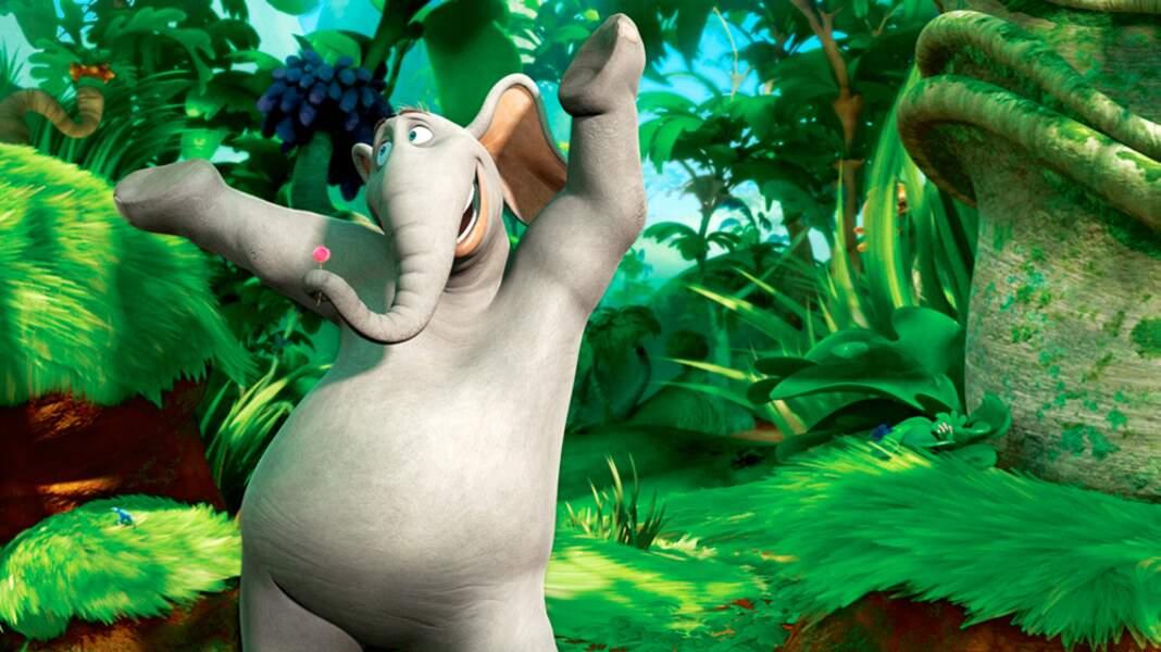 Puis il incarne Horton dans le film du même nom (2008)