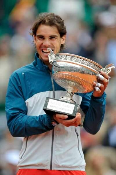 Rafael Nadal, tout simplement heureux