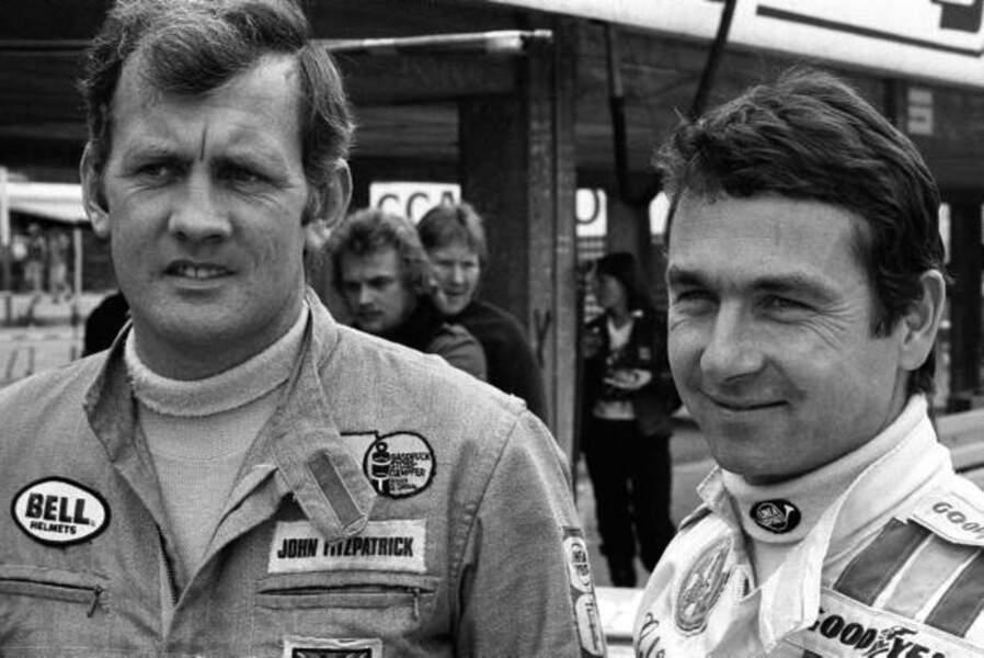 Le Français Bob Wollek (à droite) a participé à 31 éditions des 24 heure du Mans sans jamais gagner