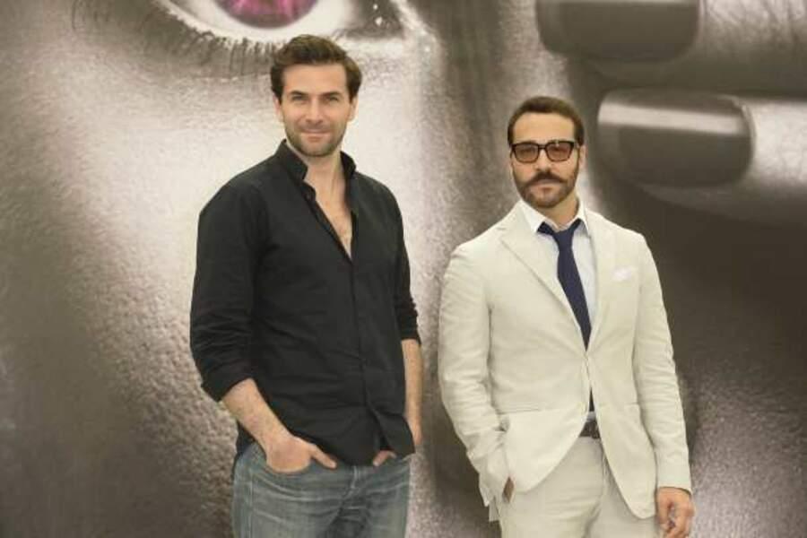 Grégory Fitoussi et Jeremy Piven venus présenter la série britannique Mr. Selfridge