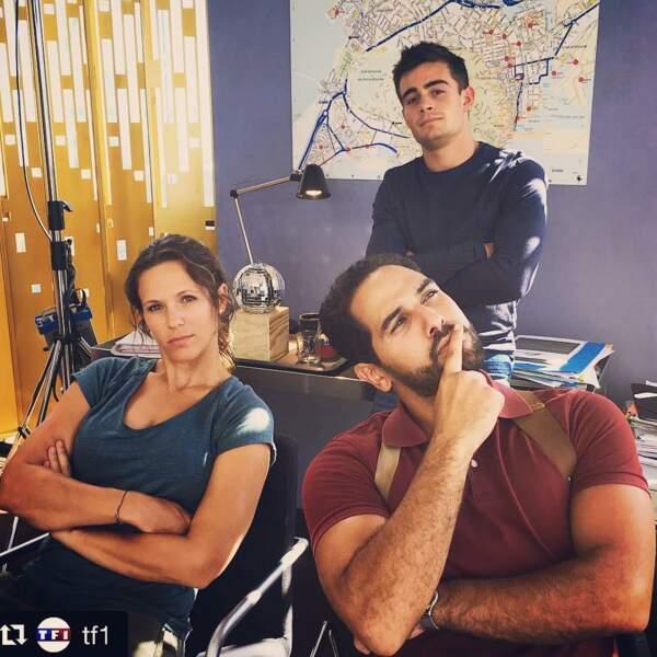 Maxime (Clément Rémiens), stagiaire au commissariat avec Lucie et Karim dans Demain nous appartient ?