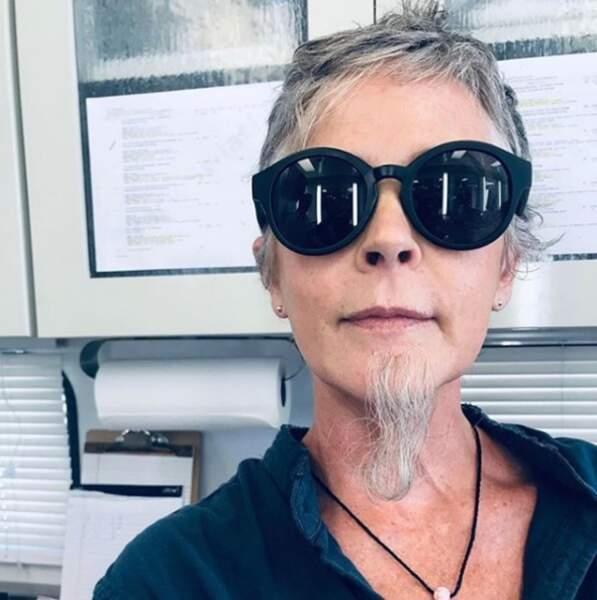 Pour cette saison 9, Carol (Melissa McBride) a eu envie de changer de look !