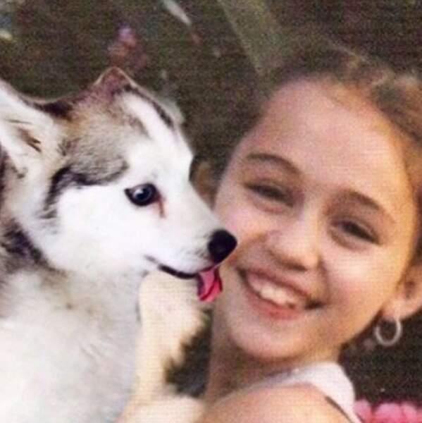 Et pour rendre hommage à son chien disparu Floyd