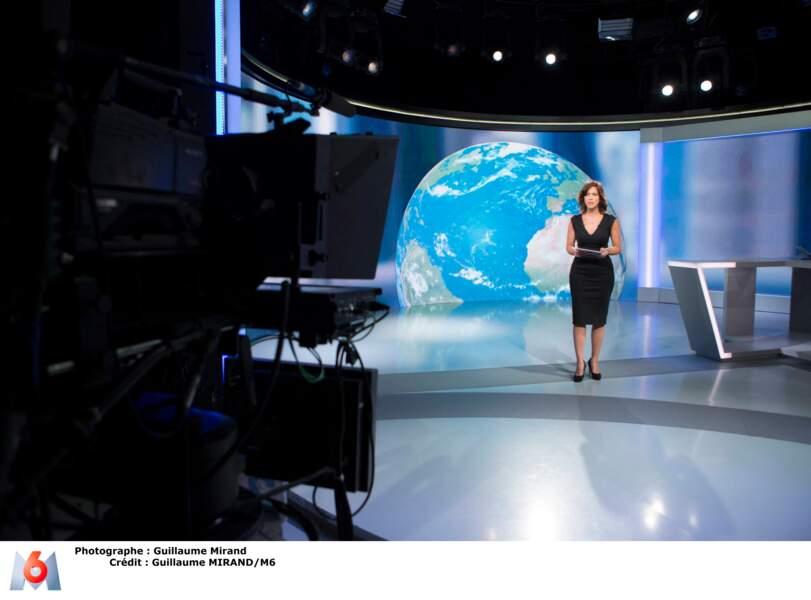 Nathalie Renoux, la présentatrice du 19.45 de M6, a fait ses premières armes sur LCI.